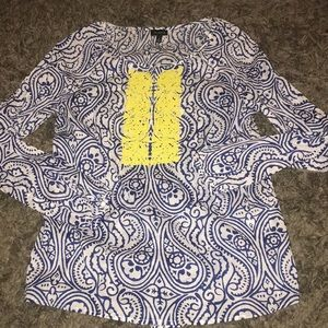 Long sleeve size s boho top